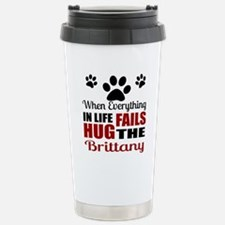 Hug The Brittany Stainless Steel Travel Mug