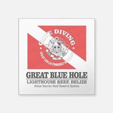 Great Blue Hole Sticker