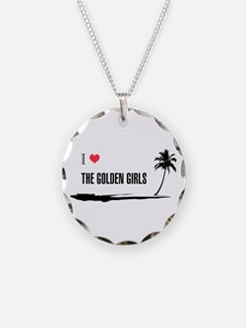 I Love Golden Girls Necklace