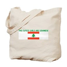 THE CUTEST GIRLS ARE LEBANESE Tote Bag
