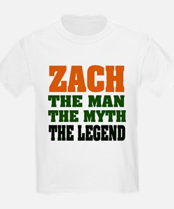 ZACH - The Legend Ash Grey T-Shirt