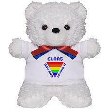 Claas Gay Pride (#005) Teddy Bear