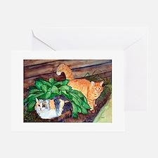 Cat Friends:Salem & Logan Greeting Cards (Package