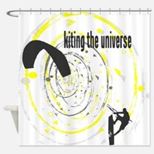 Kiting The Universe Shower Curtain