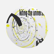 Kiting The Universe Round Ornament