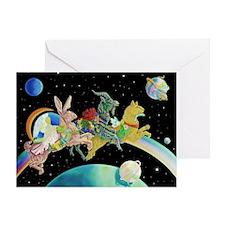 Fantasy Fine Art Greeting Card