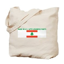 MADE IN US WITH LEBANESE PART Tote Bag