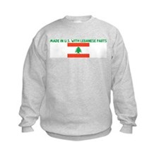 MADE IN US WITH LEBANESE PART Sweatshirt