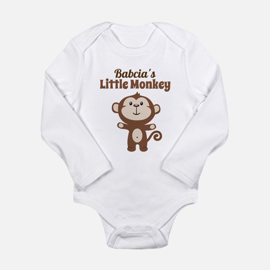 Babcias Little Monkey Body Suit