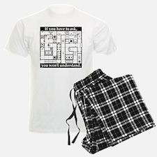 Dungeon Map Pajamas