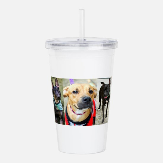 The Dogs of Home Fur-E Acrylic Double-wall Tumbler