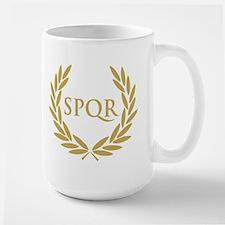 Rome SPQR Roman Senate Seal Mugs