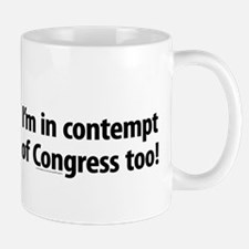 Contempt of Congress Mug