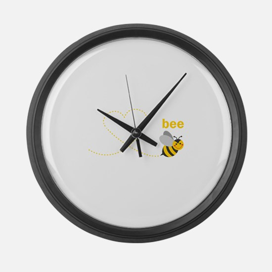 Grandma To Bee Large Wall Clock