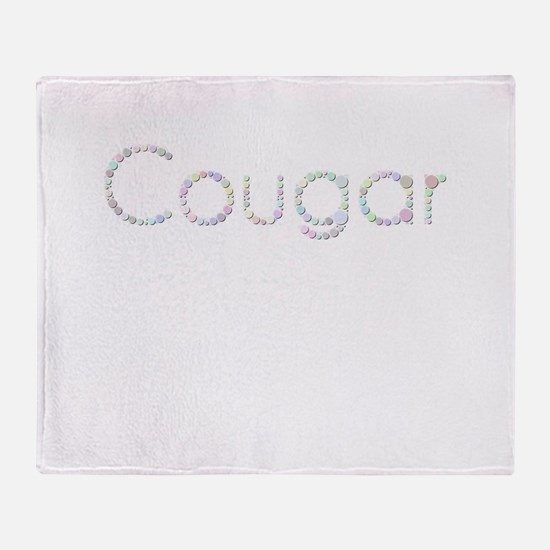 Cougar (Candies) Throw Blanket