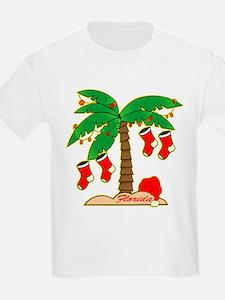 Florida Christmas Tree T-Shirt