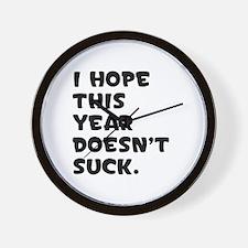 Doesn't Suck Wall Clock