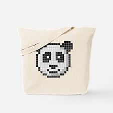 Panda (Pixel Art) Tote Bag