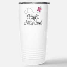 Cute Flight attendant Travel Mug