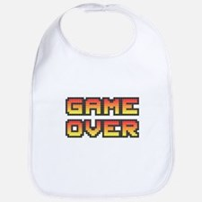 Game Over (Pixel Art) Baby Bib