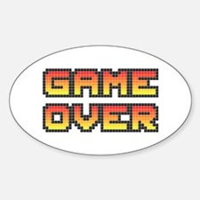 Game Over (Pixel Art) Decal