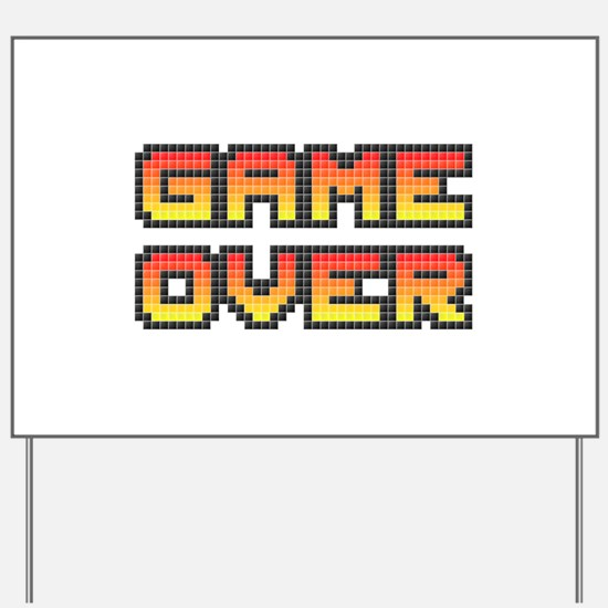 Game Over (Pixel Art) Yard Sign