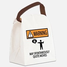 Cute Movie humor Canvas Lunch Bag