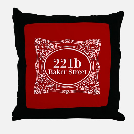 Holiday Holmes Throw Pillow