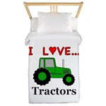 I Love Tractors Twin Duvet