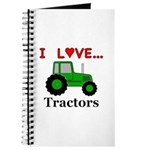 I Love Tractors Journal