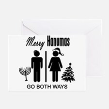 Go Both Ways Greeting Cards