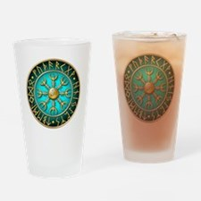 Funny Elder Drinking Glass