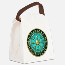 Cute Norse Canvas Lunch Bag