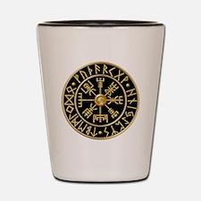 Cool Viking compass Shot Glass