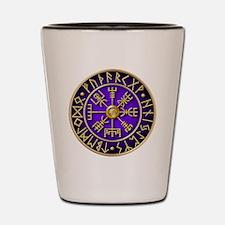 Viking compass Shot Glass