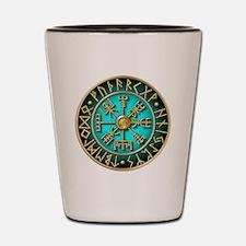 Unique Viking compass Shot Glass