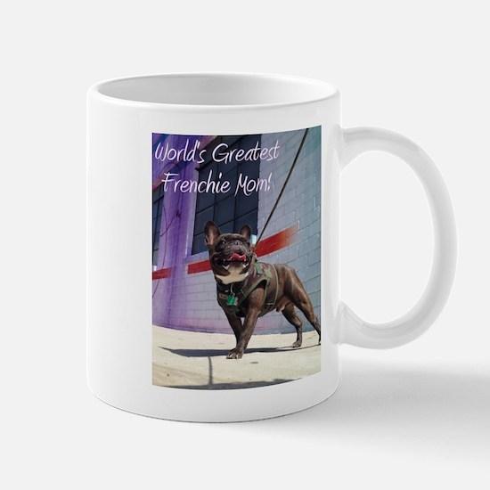 World's Greatest Frenchie Mom! 2 Mugs