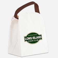 Long Island Cigar Club Canvas Lunch Bag