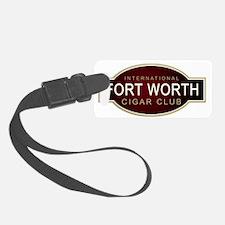 Fort Worth Cigar Club Luggage Tag