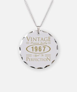 Cool 50th birthday Necklace Circle Charm