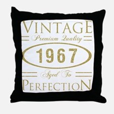 Unique 50th birthday gag Throw Pillow