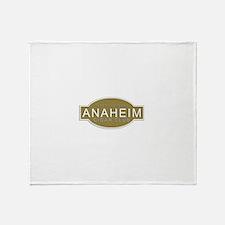 Anaheim Cigar Club Throw Blanket