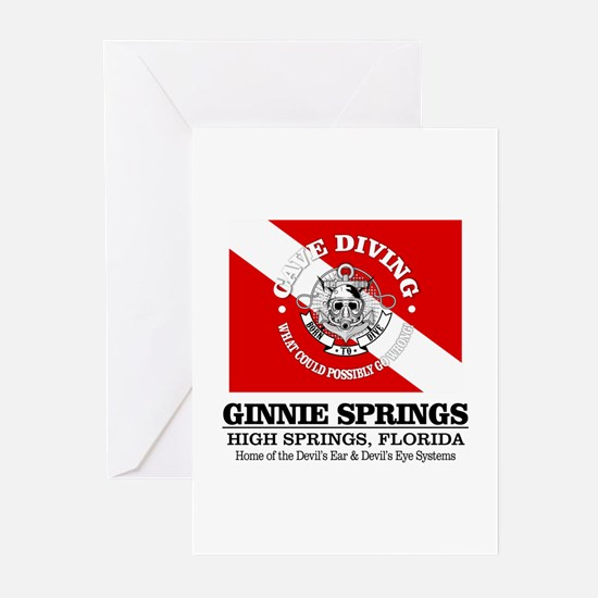 Ginnie Springs Greeting Cards
