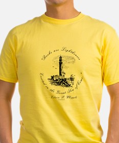 Books are Lighthouses<br> Ash Grey T-Shirt
