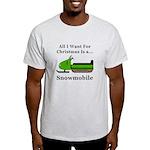 Christmas Snowmobile Light T-Shirt