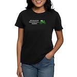 Christmas Tractor Women's Dark T-Shirt