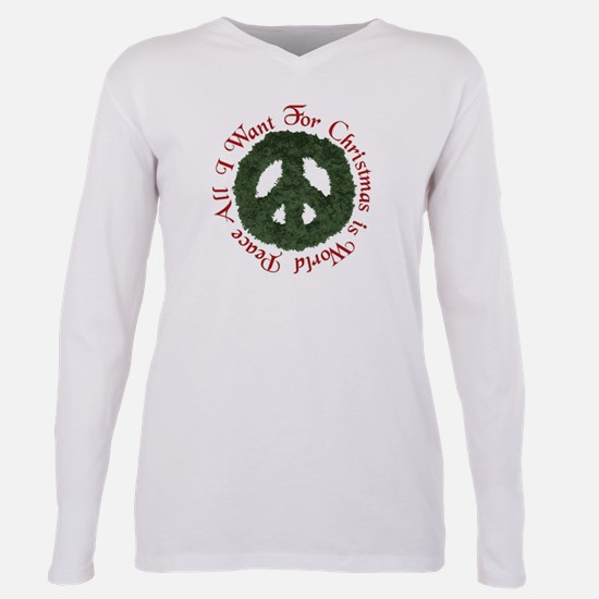 Christmas World Peace T-Shirt