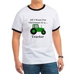 Christmas Tractor Ringer T