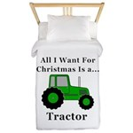 Christmas Tractor Twin Duvet