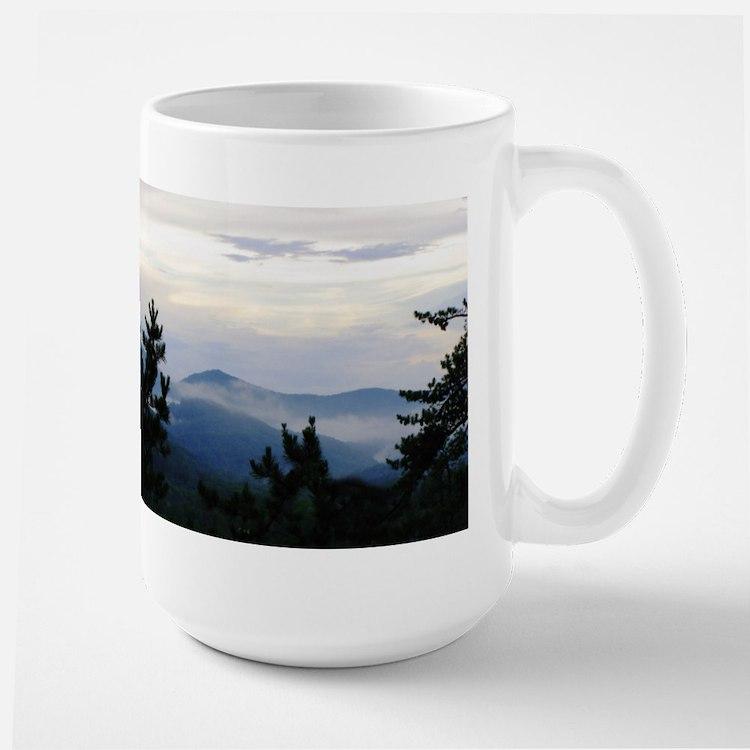 Smoky Mountain Morning Large Mug